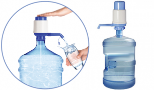 Skysčių dozatorius - vandens pompa, tinkantis ir 19l talpos buteliams