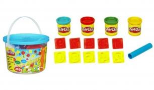"""""""Play-Doh"""" plastilino rinkinys kibirėlyje su skaičių formelėmis"""