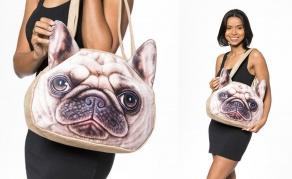 3D rankinė su šuns atvaizdu