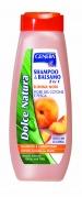 """Šampūnas ir balzamas viename su persikų žiedais """"Genera"""", 500 ml"""