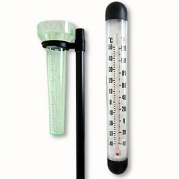 "Termometras ir lietaus matuoklis ""Lifetime Garden"""