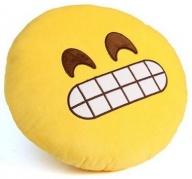"""Dekoratyvinė pagalvėlė """"Emoji Grinning Face"""""""