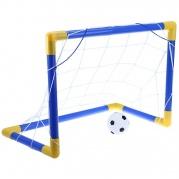 Futbolo vartai su kamuoliu vaikams