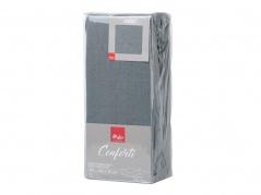 "Paklodė su guma ""Conforti"" 140 x 200 cm (pilka)"