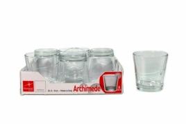 "6 stiklinių komplektas ""Archimede"", 240 ml"