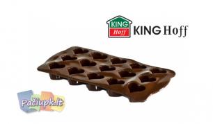 """Silikoninė """"King Hoff"""" forma šokoladiniams saldainiams (galimi modelių pasirinkimai)"""