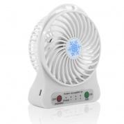 Mini USB ventiliatorius baltas