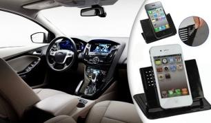 Automobilinis NANO laikiklis mobiliajam telefonui ar navigacijai