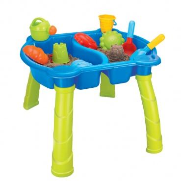 Smėlio žaislų rinkinys su stovu