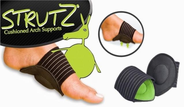 """Pavargusioms bei skausmingoms kojoms! """"Strutz"""" pėdų pagalvėles"""