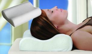 Saldžiam miegui! Prie kūno formų prisitaikanti viskoelastinė pagalvė!