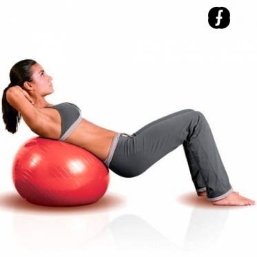 Kamuolys Pilates Body Fitball (55 cm)