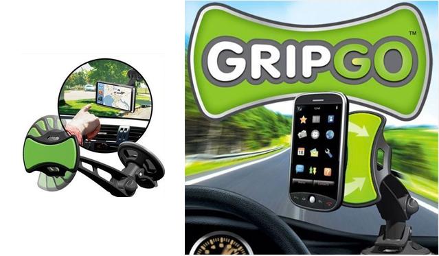 """Automobilinis telefono arba GPS įrenginio laikiklis """"GripGo"""""""