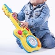 Vaikiška gitara su garsais ir šviesomis