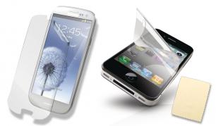 """Apsaugokite savo telefono ekraną nuo subraižymų! 2vnt apsauginių plėvelių """"Samsung"""" arba """"Apple"""" telefonams"""