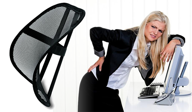 O kaip Jūs sėdite? - Ergonomiška kėdės atrama nugarai!