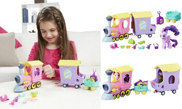 """Mažųjų ponių traukinukas """"My little pony"""""""