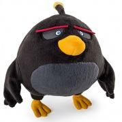 """Pliušinis žaislas """"Angry birds"""" 20cm (juodas)"""