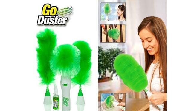 """""""Go Duster"""" lengvas ir patogus dulkių siurbliukas"""