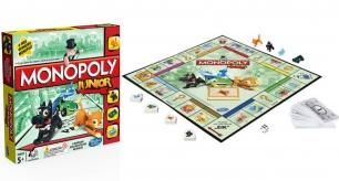"""Stalo žaidimas mažiesiems """"Monopoly junior"""""""