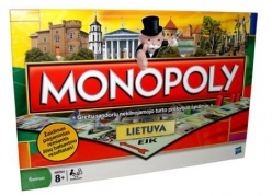 """Stalo žaidimas visai šeimai """"Monopolis Lietuva"""""""