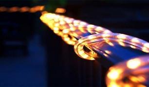 """10m LED lempučių šventinė girlianda """"Ropė"""". (Galimi spalvų pasirinkimai)"""