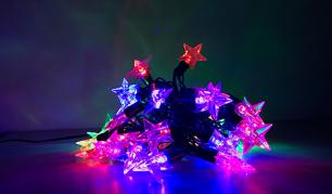 """6,7 m 50 LED lempučių šventinė girlianda - """"Žvaigždė"""""""