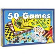 """Net 50 skirtingų žaidimų viename rinkinyje """"50 Games"""""""