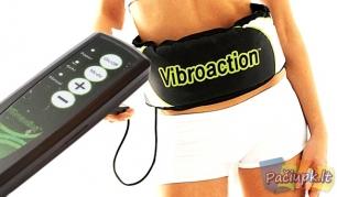 """Liekninantis ir celiulitą mažinantis vibro diržas """"Vibroaction"""""""