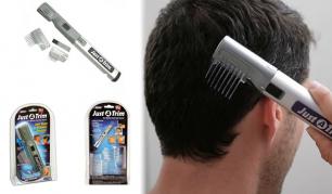 Stilingiems vyrams! Praktiška plaukų kirpimo bei modeliavimo mašinėlė