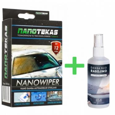 """Nano danga automobilio stiklams nuo langų rasojimo """"Nanotec"""""""