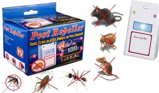 STOP kenkėjams! Elektrinius impulsus skleidžiantis prietaisas kenkėjams baidyti!