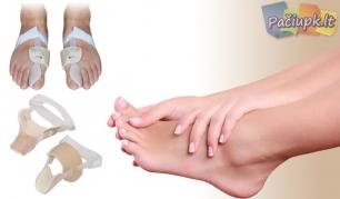 Naktinis įtvaras iššokusiam ir skausmingam pėdos kauliuko skausmo mažinimui!