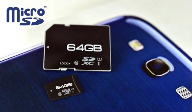 Net 64GB atminties kortelė - microSD!