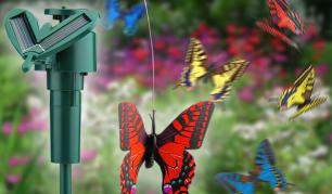 Papuoškite savo sodą! Sodo dekoracija su saulės baterija