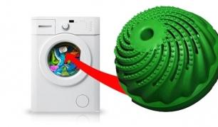Daugkartinio naudojimo ekologiškas, ekonomiškas skalbimo kamuolys