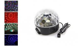 LED kristalų magijos kamuolys