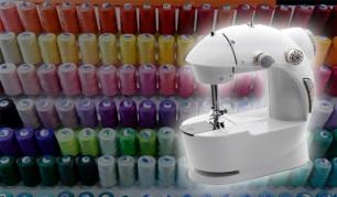 Mini siuvimo mašina Jūsų kūrybinėms fantazijoms!