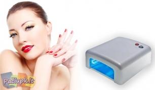 Gražioms rankoms! Gelinio lakavimo UV lempa