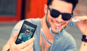 """Selfie"" laikiklis su pulteliu"