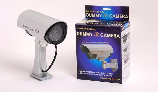 """Realistinė-imitacinė apsaugos kamera """"Dummy IR"""""""