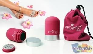 """Elektrinis pėdų šveitiklis """"Pedi Pro Deluxe"""" su priedais"""