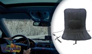 Elektrinis šildomas automobilio sėdynės užtiesalas