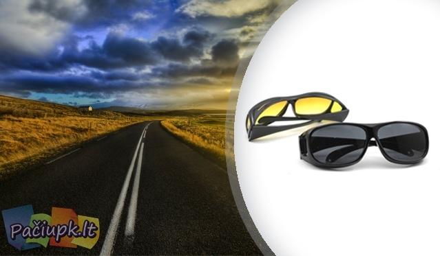 Naktiniai optiniai HD akiniai