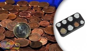 Patogus pasirinkimas Jums! Euro monetų dėklas - piniginė