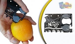 """Daugiafunkcinis įrankis """"Wallet ninja"""" - išeitis bet kokioje situacijoje!"""