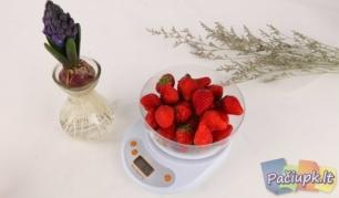Kompaktiškos ir tikslios elektroninės virtuvinės svarstyklės