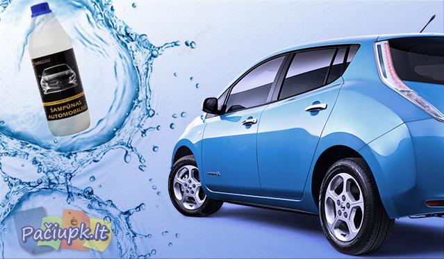 Koncentruotas šampūnas Jūsų automobiliui