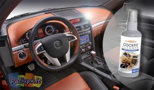 """Naujausiomis nano technologijomis paremtas automobilio panelės valiklis """"Nanotec"""""""