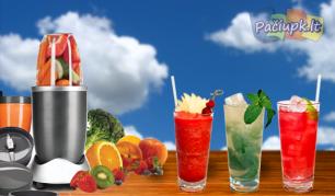 Vaisių, daržovių, riešutų bei ledo trintuvas
